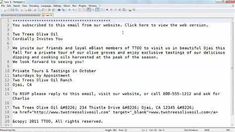 code text emails  html lyndacom tutorial youtube