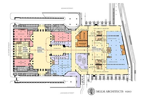 union station floor plan chicago s new metropolitan lounge information page 4