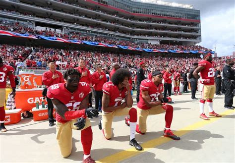What Percent Of The Nfl Has A Criminal Record Kaepernick S National Anthem Protest Holds A Mirror Up To America