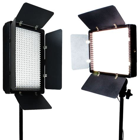 2 X 500 Led Light Panel Kit Photography Studio