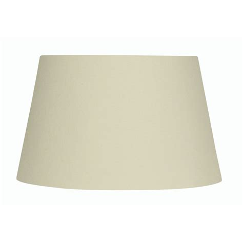 10 inch l shade cream cotton drum l shade 10 inch s901 10cr oaks lighting