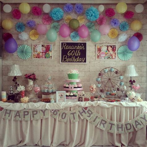 60th birthday party ideas for mom plus 60th birthday party