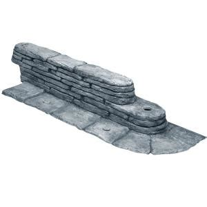 emsco 20 ft bedrocks trimfree resin slate lawn edging