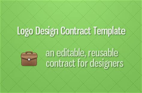 logo contract template freelance starter kit vandelay design