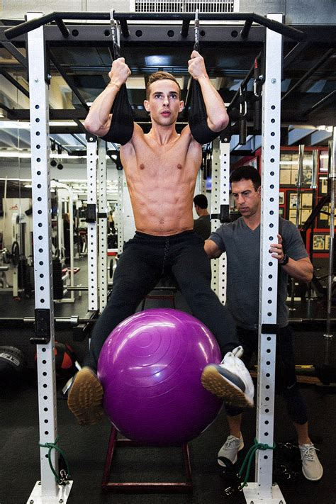 the secret adam rippon s olympic abs the new york times