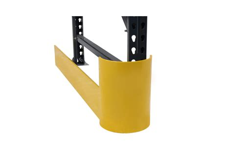end of aisle curved rack protector phs safety