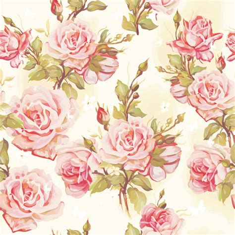 design free file beautiful floral patterns vector ser 03 free vector free
