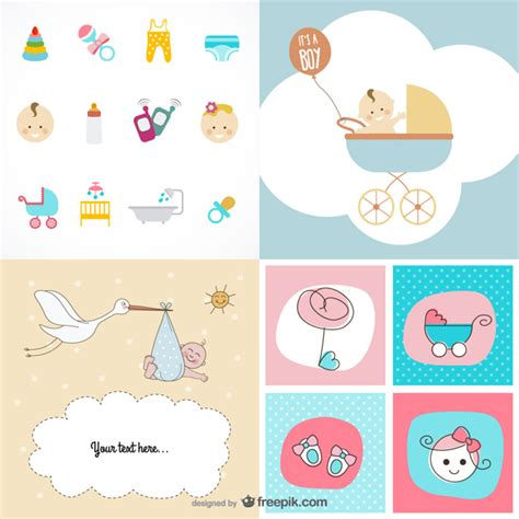 themes new baby new baby at home vector free download