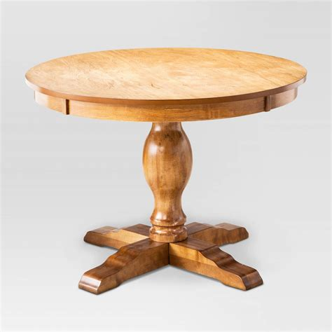 pedestal table round pedestal dining table threshold ebay