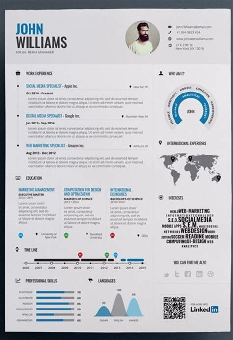 trendy resumes top 10 creative resume templates modern