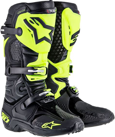 best motocross boots best keep getting better tech 10 boots dennis kirk