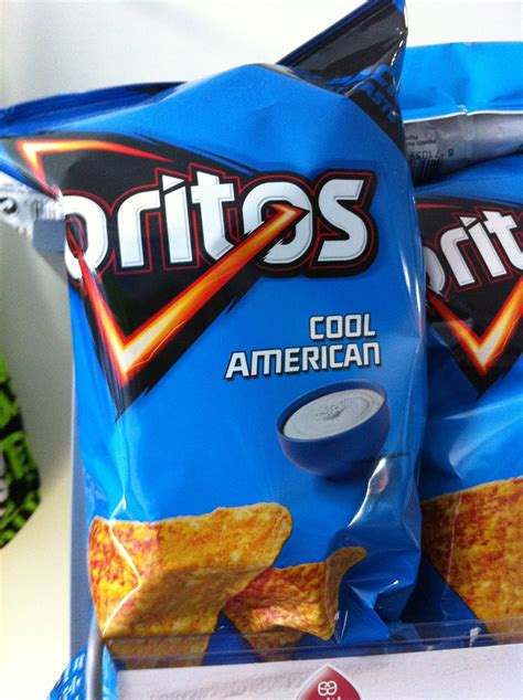 American Cool in cool ranch doritos are called quot cool american
