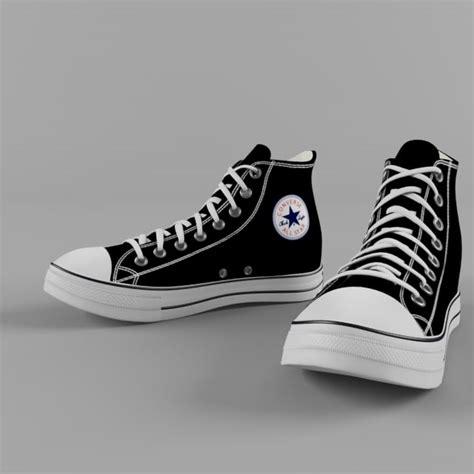 Kaos Dc Shoes Original 74 shoe converse 3d model