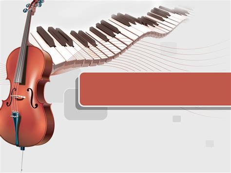 piano and cello music templates for powerpoint