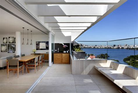 Floor To Ceiling Windows That Open by Attractive Penthouse With Pool Interiorzine