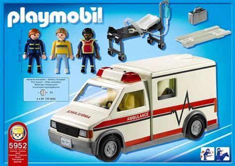 Playmobil Krankenwagen 1757 by Playmobil Krankenwagen Playmobil Ambulance City