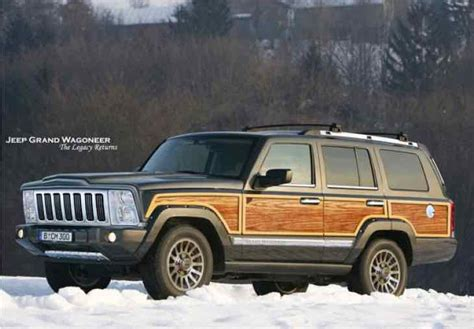 Jeep Grand Wagoneer 2015 Launch Upsets Ford Bronco Fans
