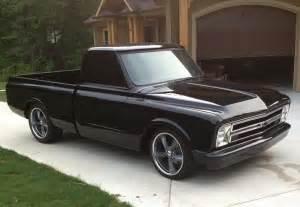 chevy black c10 truck auto chevy c10