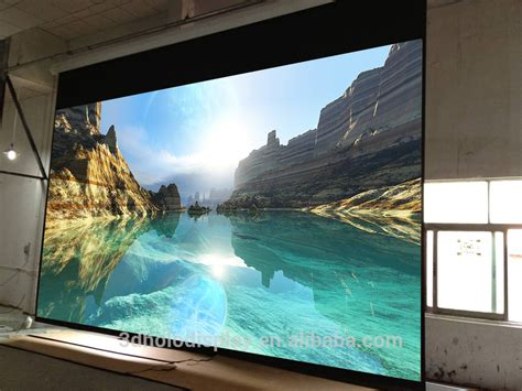 motorized projector screen large size electric