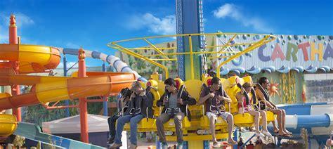 theme park yasmine hammamet parc aqualand tunis attractions aquatique carthage land lac