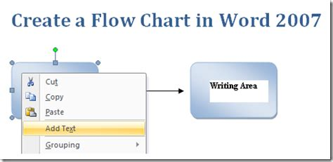 create a flow chart in msword microsoft office support