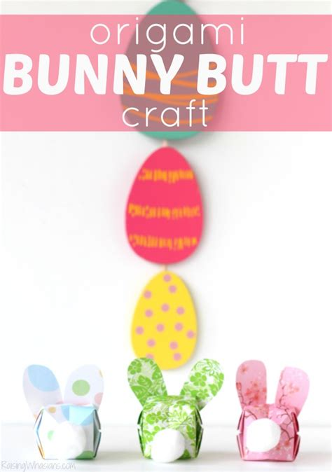 Easy Origami Easter Bunny - easy origami bunny easter craft
