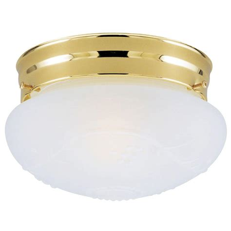 westinghouse 1 light ceiling fixture polished brass