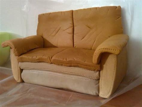 cake leather sofa fondant leather arm chair sofa cake topper video