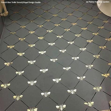 how to get paint of linoleum floor paint vinyl linoleum with floor stencils 8 diy decor