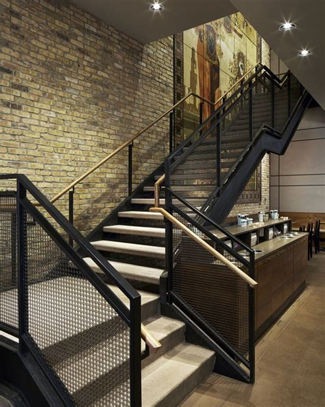 Industrial Stairs Design 25 Best Ideas About Industrial Stairs On Industrial Handrail Handrail Ideas And