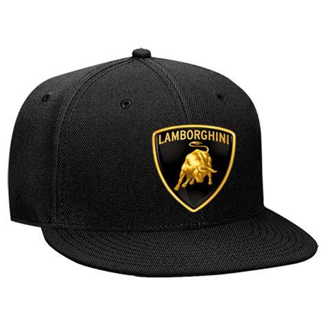 Lamborghini Hat Lamborghini Logo Snapback Flat Bill Hat 125 978 125
