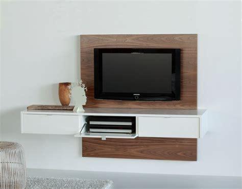 fernseher verkleidung floating tv panels