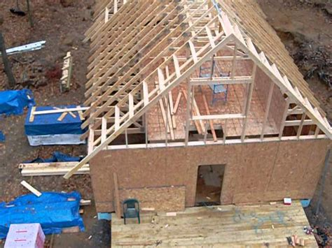 how to build a gable roof how to build a gable roof and extend the roof overhang
