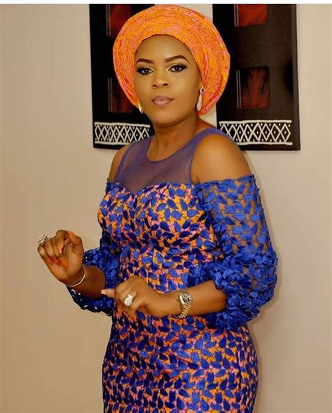 ankara african dress with lace 25 best ideas about ankara styles on pinterest african