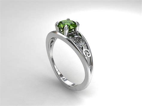 25 best ideas about peridot engagement rings on