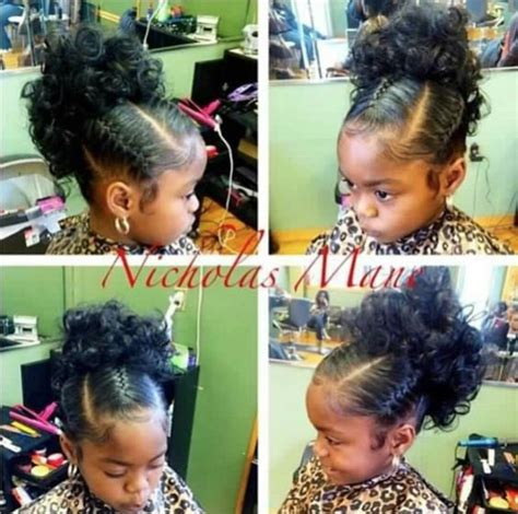 party hairstyles for 13 year olds 50 trendy updo hairstyles for black kids afrocosmopolitan