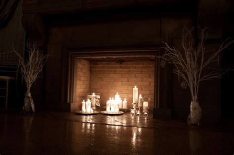 candles in fireplace 30 adorable fireplace candle displays for any interior