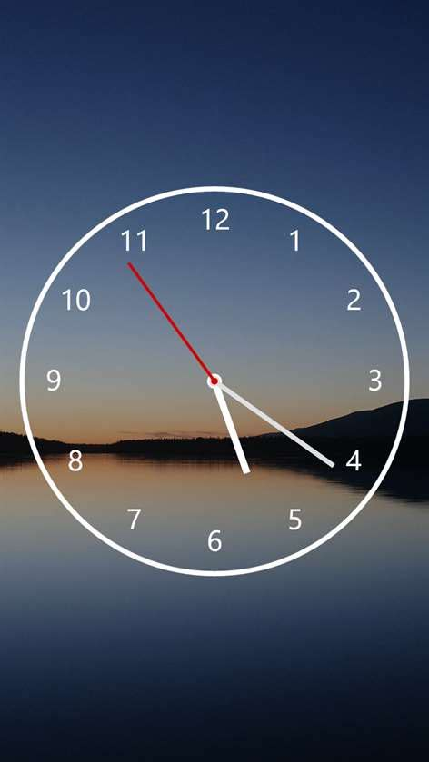 Link Time Fabsugar Want Need 60 by Get Nightstand Analog Clock Microsoft Store