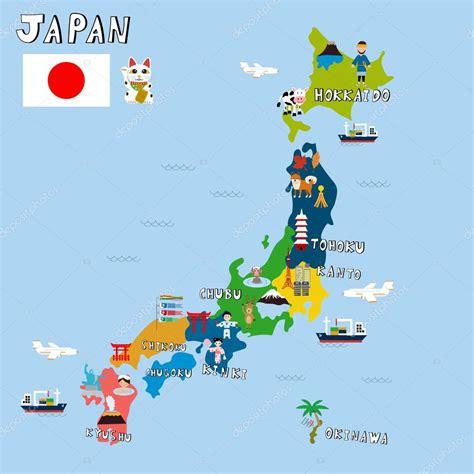 imagenes de made in japan japan foto s kaart vectorillustratie eps10 stockvector