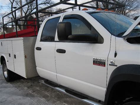 dodge ram truck bed for sale 2008 dodge ram 5500 truck with utility bed for sale sold at autos weblog