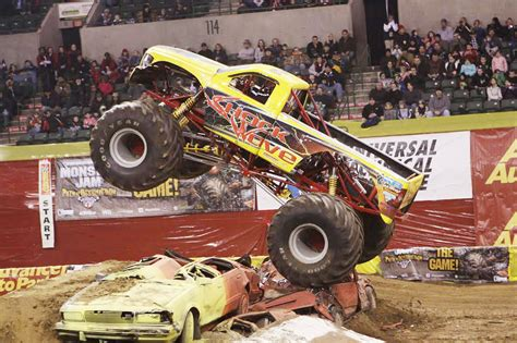 monster trucks show nj interview with new jersey native bill braukmann driver of