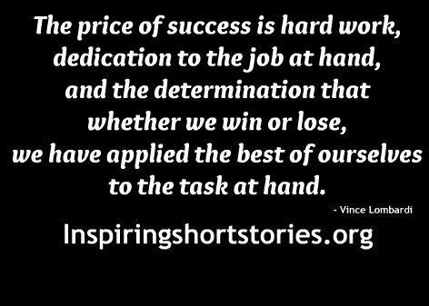 Determination Hard Work Quotes Inspirational. QuotesGram