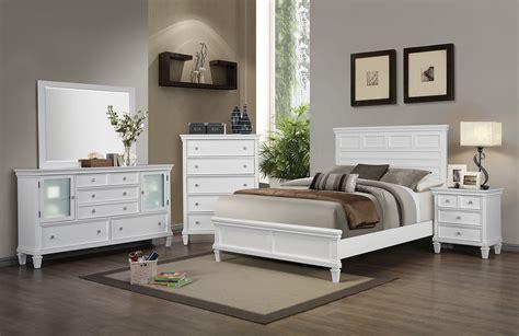 sandy beach bedroom set white coaster sandy beach white 5pc king panel bedroom group