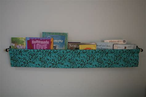 hanging book holder tutorial a project at a time