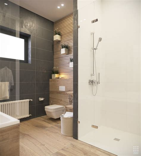 bathroom materials an organic modern home with subtle industrial undertones