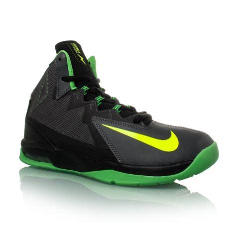 green boys basketball shoes nike air max stutter step 2 gs boys basketball