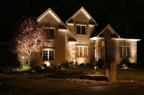 exterior home lighting design exterior lighting electrical contractor rochester ny