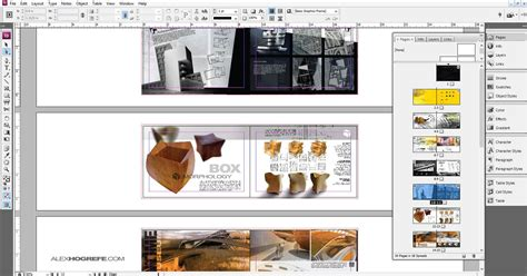 Indesign Why Use It Visualizing Architecture Free Indesign Portfolio Templates