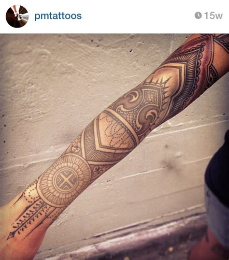 geometric tattoo indian tribal tattoos tattoolot