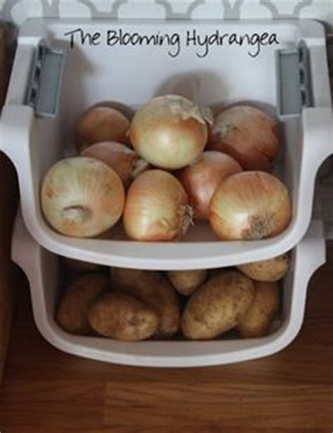 How To Store Potatoes And Onions In Pantry by Small Pantry Organization On Storage